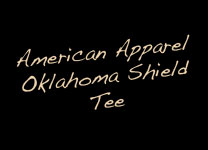 Oklahoma Shield Tee