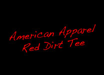 Red Dirt Tee