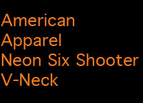 OK Neon Orange Shooter V Neck